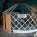 12' Yurtastic frame with floor pan