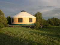 All Inclusive Yurt on Acreage in the Beautiful Apishapa Valley