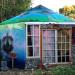 Outside of yurt