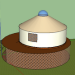 3d yurt