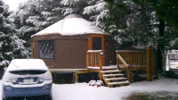 20ft Colorado Yurt with lots of extras
