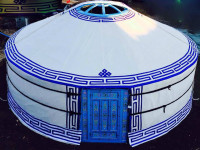New Authentic Mongolian Yurt for the price of used