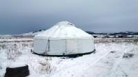 A yurt camp that didn't happen…