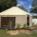 Yurt exterior_2