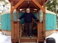 30′ Pacific Yurt Fabric & French door assembly