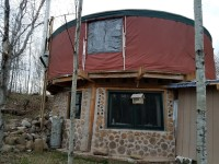 ::sale pending::  27′ Colorado yurt