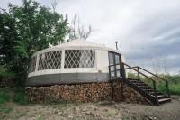 30ft Rainier Yurt with Upgrades and Modern Interior