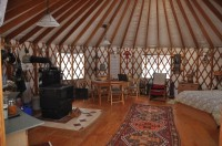 24' Pacific Yurt with many upgrades