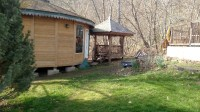 Brand New 30ft Wood Yurt with Deck! Packaged & Ready to ship