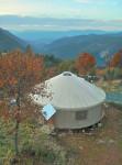 30′ tall wall Pacific Yurt, 10 years old