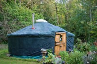 18ft Yurt/ger: Hand made, lived in all year round- lots of extras
