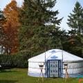 private event in a 5-walls yurt