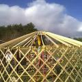 16ft.yurt frame work