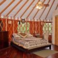 Krepps yurt bedroom