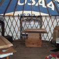 My sewing yurt.