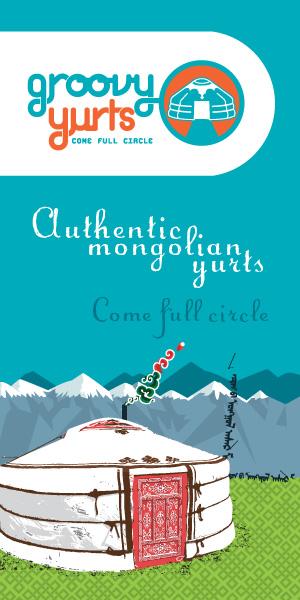 GroovyYurts - Authentic Mongolian yurts