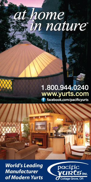 Pacific Yurts - The original modern yurt
