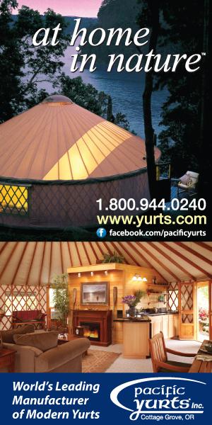 Pacific Yurts - The original modern yurt
